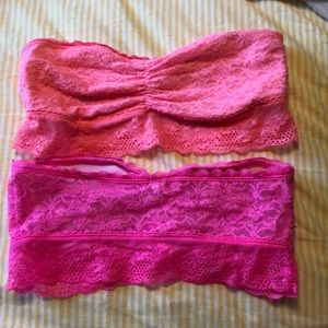 Lot of 2 aerie bandeaus
